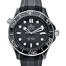 Omega Seamaster Diver 300 M Co-Axial Master Chronometer 43.5 mm Automatic Black Dial Ceramic Men's Watch