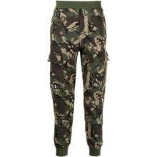 AAPE BY *A Bathing Ape® Camouflage Print Cargo Track Trousers