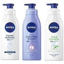 NIVEA Body Lotion 400ml 3 Types
