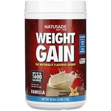 Naturade Weight Gain Vanilla 2.5 lbs (40.6 oz)