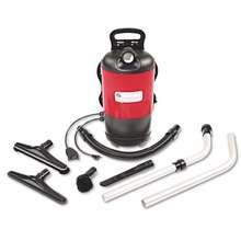 Electrolux Transport Quietclean Backpack Vacuum Sc412b, 1.5 Gal Tank Capacity, Red