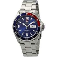 ORIENT Mako II Automatic Blue Dial Pepsi Bezel Mens Watch FAA02009D9