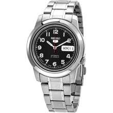 Seiko 5 Automatic Black Dial Mens Watch SNKK35J1