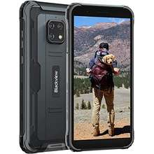"""BLACKVIEW Rugged GSM Unlocked Cell Phones, BV4900 Rugged Smartphone, 4G Android 10 Android Phone, 5580mAh 5.7"""" HD+ Unlocked Smartphone, 3GB+32GB Waterproof Phone, NFC Face ID Rugged Unlocked Phones"""