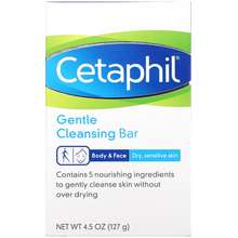 Cetaphil Gentle Cleansing Bar 4.5 oz (127 g)