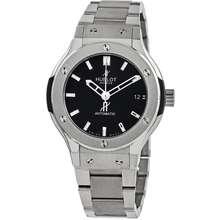 Hublot Pre owned Classic Fusion Black Dial Mens Watch 565.NX.1170.NX