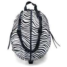 Desigual Zebra Print Foldable Backpack