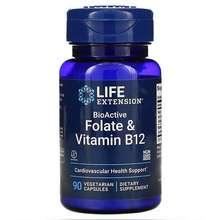 Life Extension BioActive Folate & Vitamin B12 90 Vegetarian Capsules