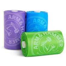 Munchkin Arm & Hammer Diaper Bag Refill, 3 Pack, 36 Bags
