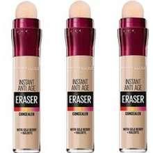 Maybelline Eraser Eye Concealer Light x 3