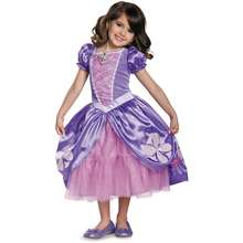 Disguise Deluxe Sofia The First Next Chapter Costume Dress for Girls