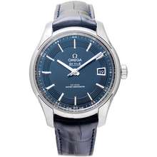 Omega De Ville Hour Vision Co-Axial Master Chronometer 41 mm Automatic Blue Dial Steel Men's Watch