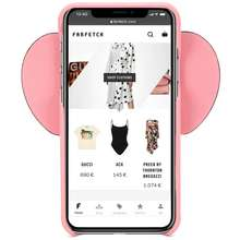 Loewe Loewe iPhone X/XS Elephant Case Pink
