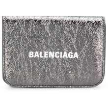 Balenciaga Cash Mini Wallet Silver Hong Kong