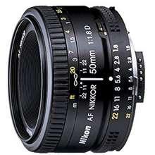 Nikon AF Nikkor 50mm f/1.8D Hong Kong