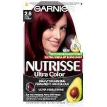 Garnier Garnier Nutrisse Permanent Hair Colour 2.6 Dark Cherry Red