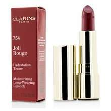 Clarins Joli Rouge Long Wearing Moisturizing Lipstick 754 Deep Red Hong Kong