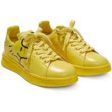 Marc Jacobs X Peanuts Tennis Shoes Yellow Hong Kong