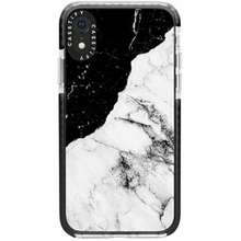 Casetify Casetify Protective Case for Apple Iphone XR Black White Marble