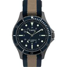 Timex Navi XL 41mm Fabric Slip-Thru Strap Watch Hong Kong