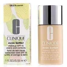 Clinique Even Better Makeup Broad Spectrum SPF15 #75 Custard Hong Kong