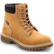 Timberland Women 6 Inch Direct Attach Steel Toe Boots Wheat Nubuck Hong Kong