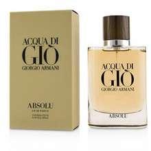 Armani Acqua Di Gio Absolu Eau De Parfum Spray Hong Kong