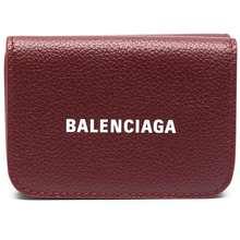 Balenciaga Cash Mini Wallet Red Hong Kong