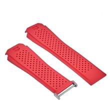 TAG Heuer Connected Modular 45 Watch Strap Rubber Red Hong Kong