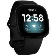 Fitbit Versa 3 Black Hong Kong